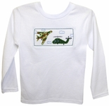 Boy's Smocked Shirt with Military Camo Plane & Helicopter by Vive La Fete