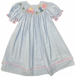 Vive La Fete Smocked Cinderella Princess Dress