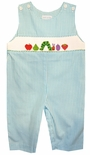Vive La Fete Smocked Hungry Caterpillar Longall
