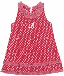 Girl's Smocked Dress in University Of Alabama Colors By Vive La Fete.