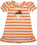 Zuccini Girl's University of Tennessee Little Cheerleader Dress