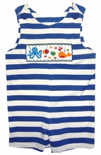 Zuccini Smocked Sea Pals for Boys