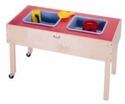 2 Tub Sand-n-Water Table - Toddler Height