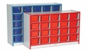 20 Tray Cubbie Storage Unit