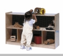 "30"" H Single Toy & Block Mobile Storage"
