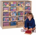 JonTi-Craft 20 Tray Mobile Storage