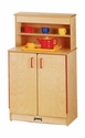 Jonti-Craft® Natural Birch Play Kitchen Cupboard