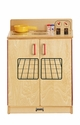 Jonti-Craft® Natural Birch Play Kitchen Stove