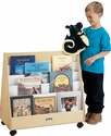 Jonti-Craft� Mobile Double Sided Pick-a-Book Stand