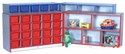 PRESCHOOL Hinged Storage and Cubbie Unit