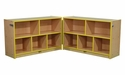 PRESCHOOL Hinged Storage Unit w/ Casters