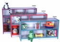 "PRESCHOOL Single Side Storage Unit (2"" Casters)"