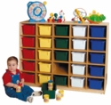 Tip-Me-Not 25-Tray Storage Unit<br>