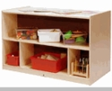 Toddler Double-Sided Storage