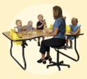 Toddler Table 8-Seat<br>Price Includes Shipping!