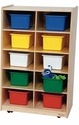 Vertical 10 Tray Storage <br>