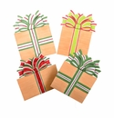 Burlap Packages Md- Asst. 4 - Round Top Christmas Collection