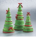 Christmas Trees - Set Of 3 Assorted - Demdaco