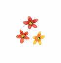 Chubby Flower Magnets-Asst. 3 - Round Top Fall Collection