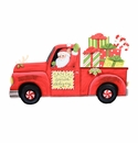 Cowboy Santa in Truck Yard - Round Top Christmas Collection