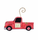 Cowboy Truck Ornament - Round Top Christmas Collection