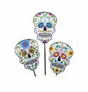 Day of the Dead Skulls- Asst. 3 - Round Top Fall Collection