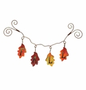 """FALL"" Leaves Garland - Round Top Fall Collection"