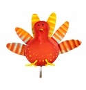 Fancy Fall Turkey Stake - Round Top Fall Collection