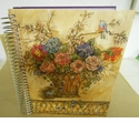 Floral Jumbo Journal - Gregg Gifts