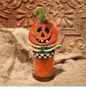 Halloween Treat Candle - Round Top Fall Collection