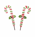 Ho Ho Candy Canes Sm - Asst. 2 - Round Top Christmas Collection