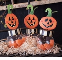 Jack O Lantern Jars - Asst.3 - Round Top Fall Collection