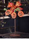 Jack O Lantern Magnets - Asst. 3 - Round Top Fall Collection