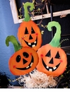 Jack O Lantern Trio Large - Asst. 3 - Round Top Fall Collection