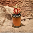 Pumpkin Spice Candle - Round Top Fall Collection