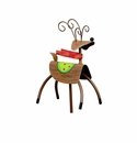 Red Scarf Reindeer - Round Top Christmas Collection