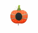Ribbon Wrapped Chalkboard Pumpkin-Sm - Round Top Fall Collection