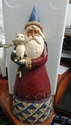 Santa Cat Figurine - Jim Shore
