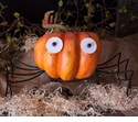 Spider Pumpkin Parts Sm - Round Top Fall Collection