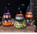 Witches Hat Jars - Asst. 3 - Round Top Fall Collection
