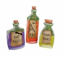 Witchy Potion Bottles- Asst. 3 - Round Top Fall Collection
