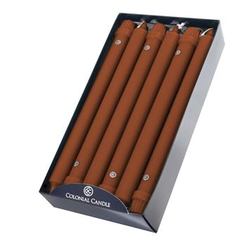 """12"""" Classic Taper Candle - Single - Amber"""