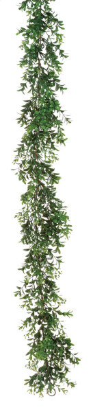 "Artificial Garland - ""Boxwood Garland"" - 6 ft"