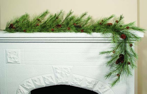 "Artificial Garland - ""Northern Soft Pine Garland"" - 6 ft"