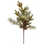 "Artificial Pick - ""Sage Feather Pine"" - 19 Inches"