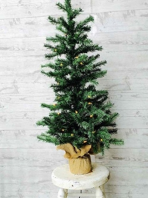artificial tree quot artificial pine tree with lights quot 3