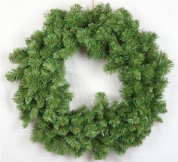 "Artificial Wreath - ""Alpine Wreath"" - 24"""