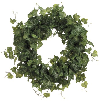 "Artificial Wreath - ""Cambridge Ivy Wreath"" - 20"""