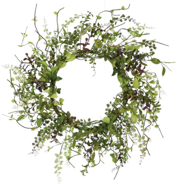 "Artificial Wreath - ""Herb Wreath"" - 26"""