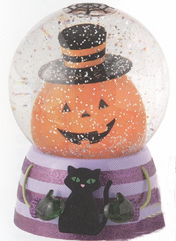 "Battery Operated Shimmer Dome - ""Battery Operated Shimmer Pumpkin Dome With Motion"""